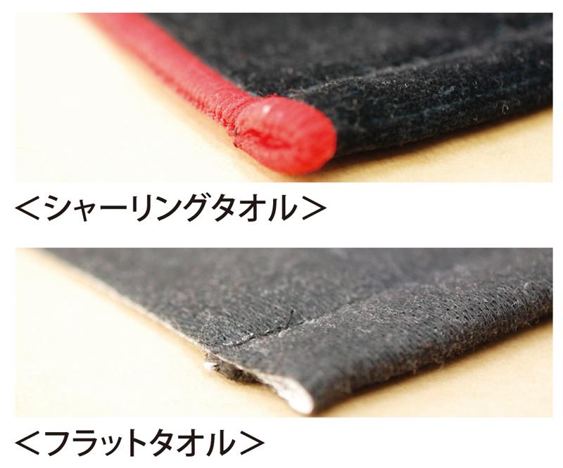 端部分の縫製